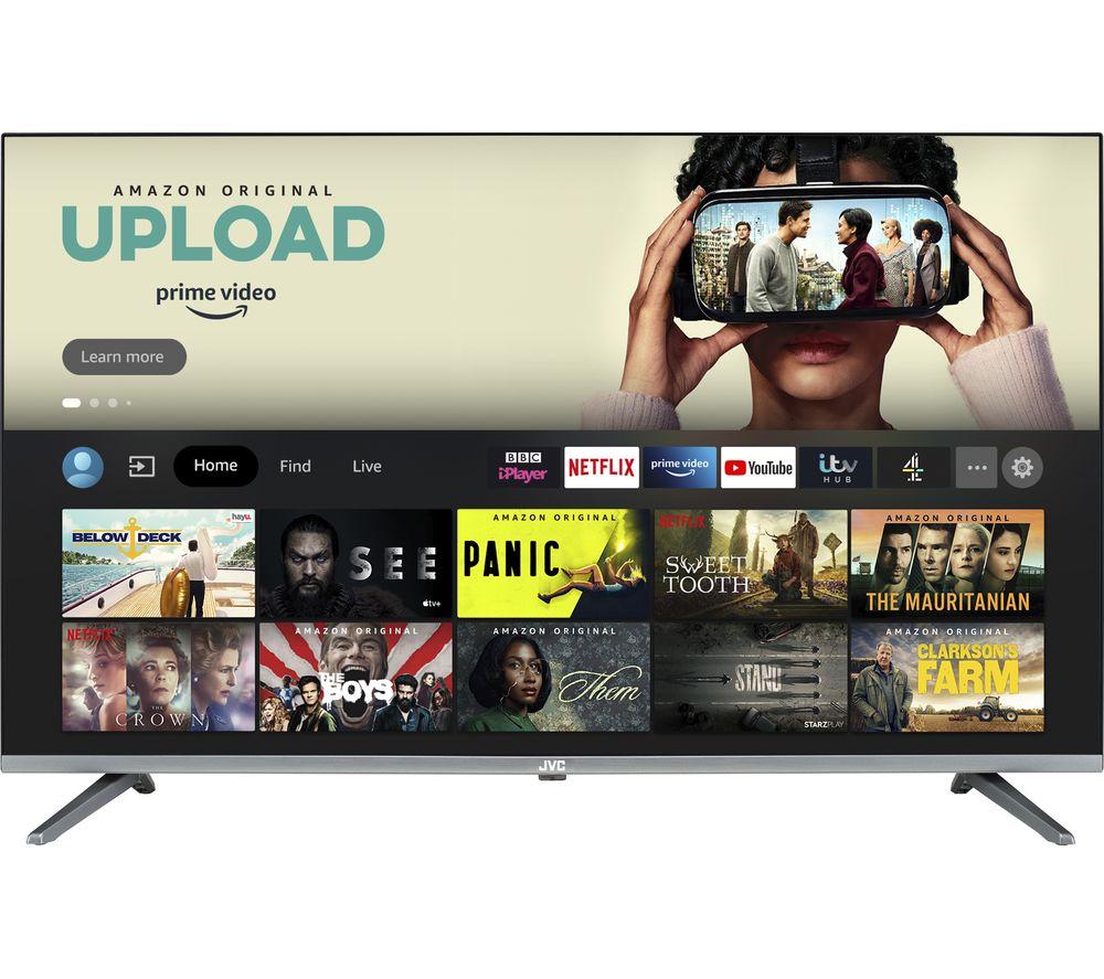 "JVC LT-43CF700 Fire TV Edition 43"" Smart Full HD HDR LED TV with Amazon Alexa"