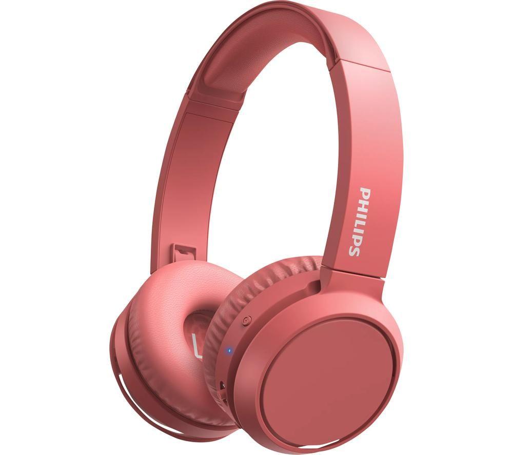 PHILIPS TAH4205RD/00 Wireless Bluetooth Headphones - Red