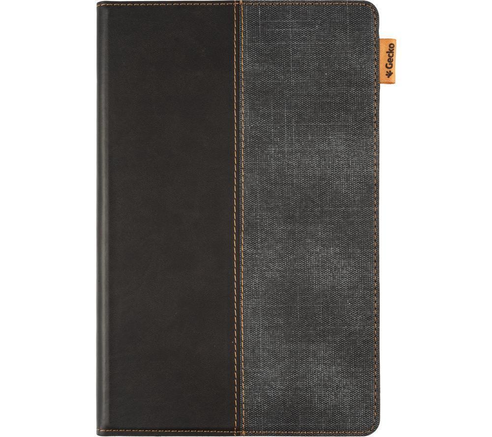 """GECKO COVERS Easy-Click 2.0 10.4"""" Galaxy Tab A7 Folio Case – Black & Grey, Black"""