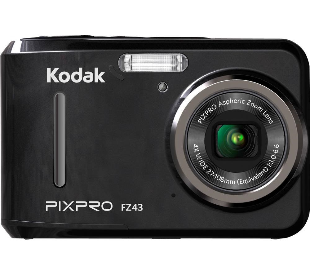 Click to view product details and reviews for Kodak Pixpro Fz43 Compact Camera Black Black.