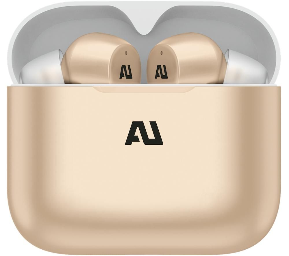 AUSOUNDS AU-Stream Wireless Bluetooth Earphones - Gold, Gold