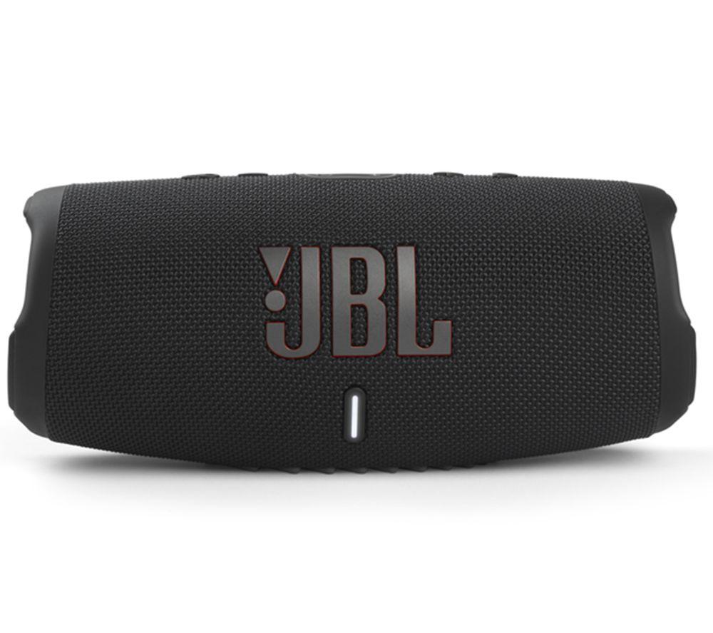 JBL Charge 5 Portable Bluetooth Speaker - Black, Black