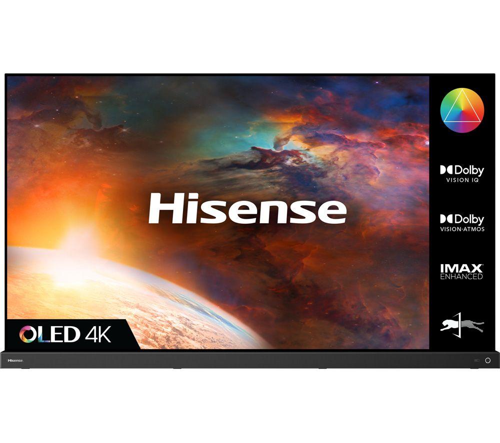 "HISENSE 55A9GTUK 55"" Smart 4K Ultra HD HDR OLED TV with Alexa & Google Assistant"