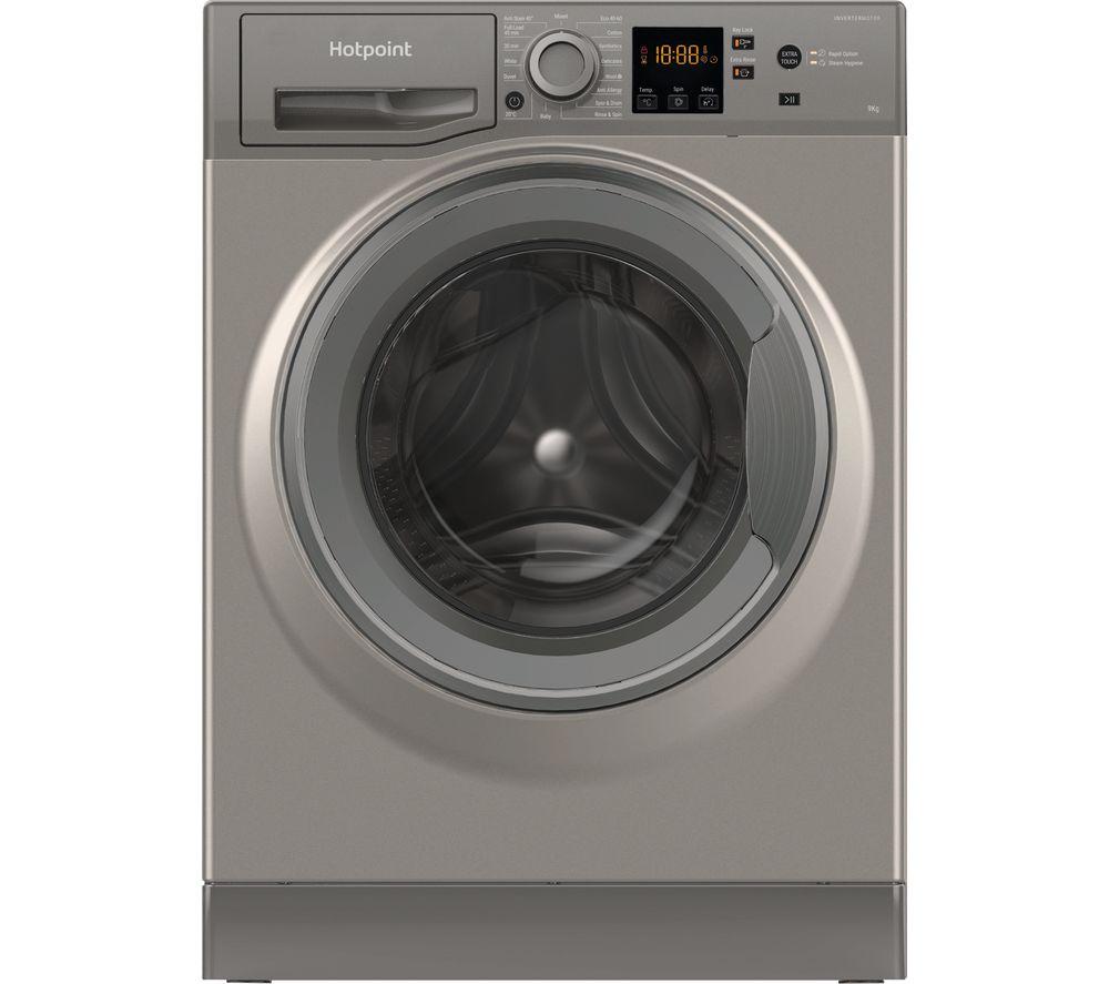 HOTPOINT NSWR 944C GK UK N 9 kg 1400 Spin Washing Machine - Graphite