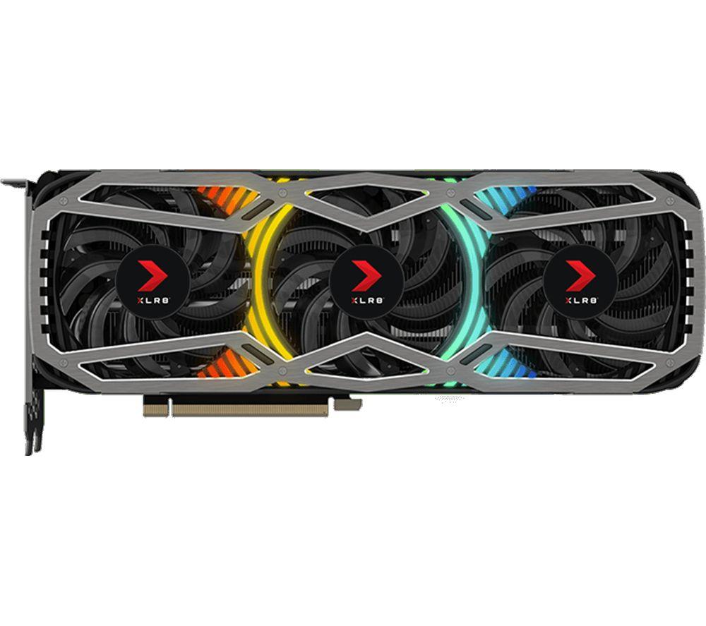 Image of PNY GeForce RTX 3070 8 GB XLR8 Gaming REVEL LHR Graphics Card