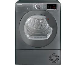 H-Dry 300 HLE C9DRGR WiFi-enabled 9kg Condenser Tumble Dryer - Graphite