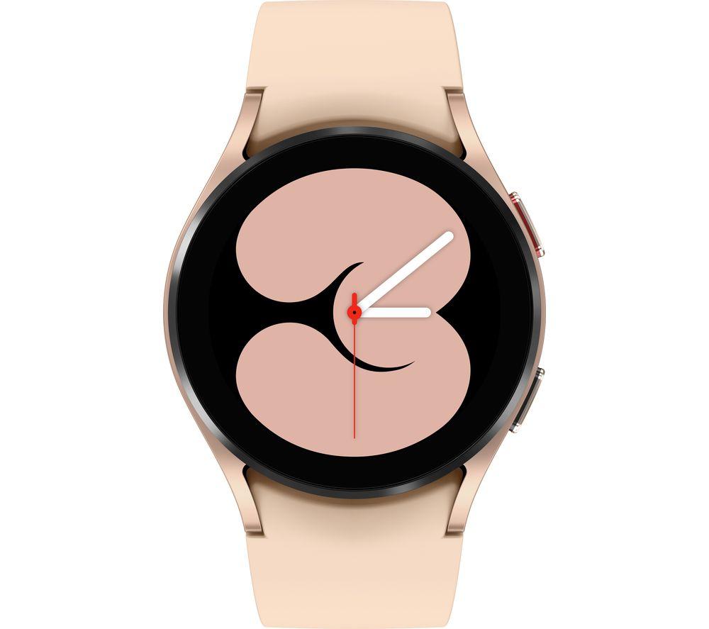 SAMSUNG Galaxy Watch4 BT - Aluminium, Pink Gold, 40 mm