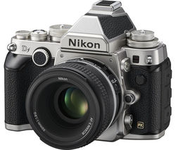 NIKON Df DSLR Camera with 50 mm f/1.8 Lens - Black