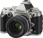 NIKON Df DSLR Camera with 50 mm f/1.8 Lens - Black