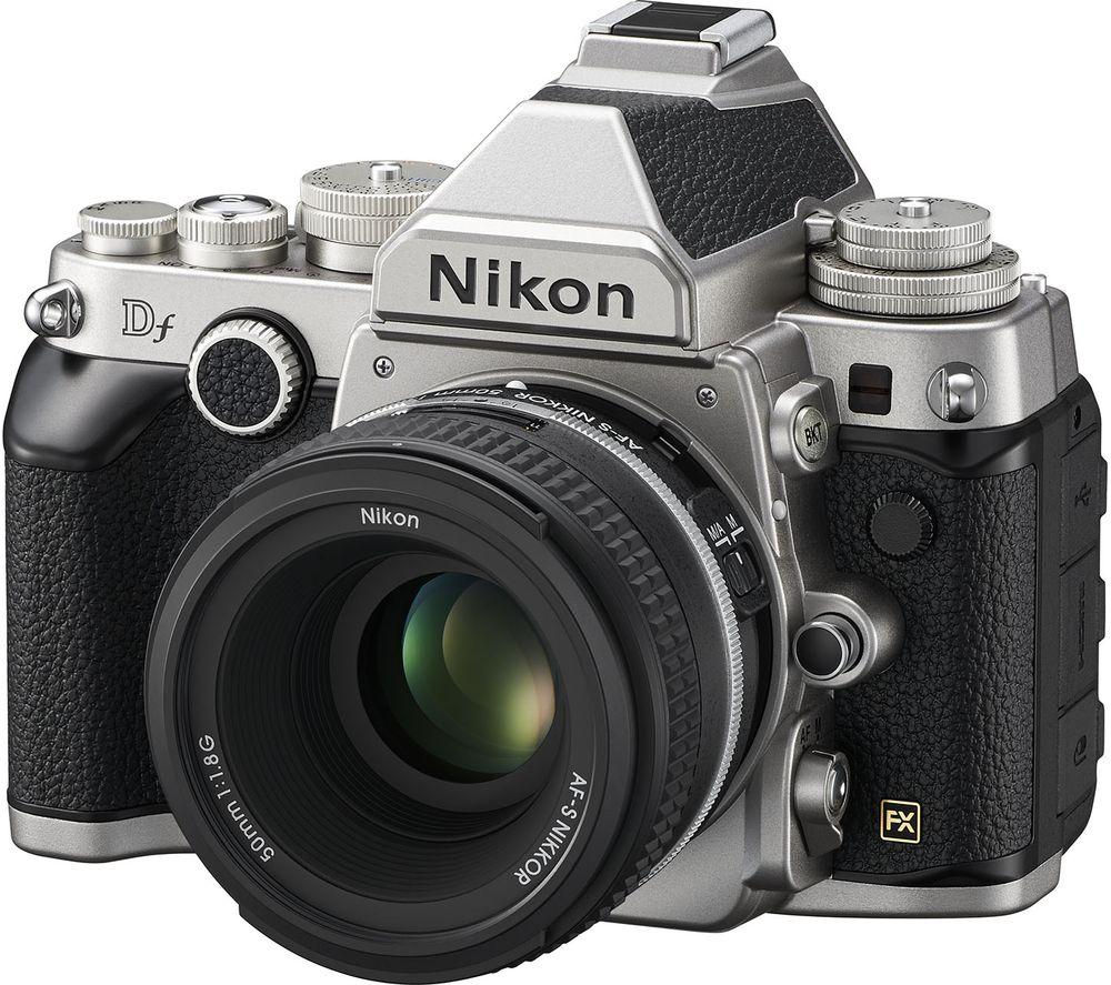 NIKON Df DSLR Camera with 50 mm f/1.8 Lens