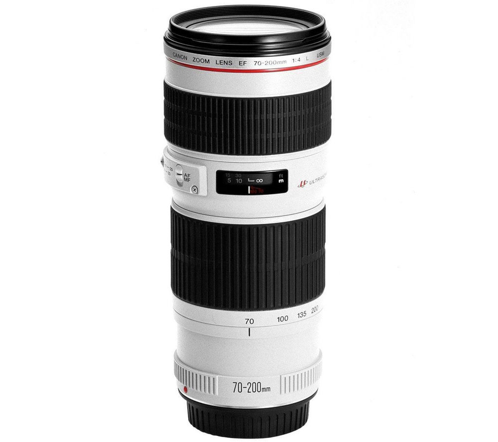 CANON EF 70-200 mm f/4 USM Telephoto Zoom Lens