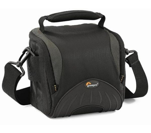 LOWEPRO Apex 110 AW DSLR Camera Bag - Black & Grey