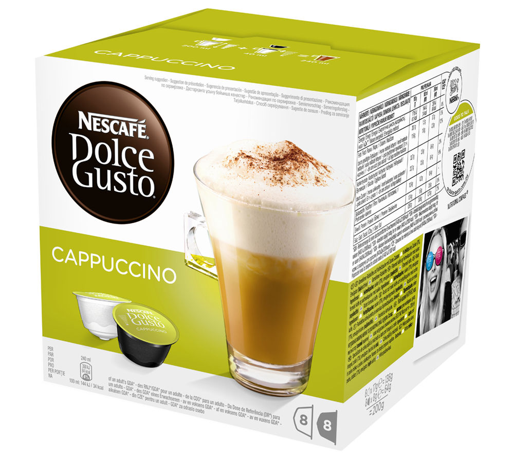 Image of NESCAFE Dolce Gusto Cappuccino - Pack of 8