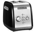 KITCHENAID 5KMT221BOB 2-Slice Toaster - Black