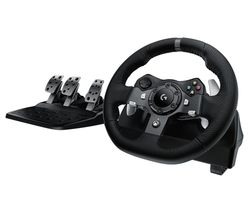 Driving Force G920 Xbox One & PC Racing Wheel & Pedals - Black