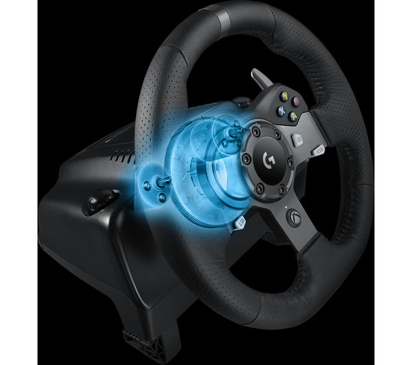 LOGITECH Driving Force G920 Wheel & Gearstick Bundle
