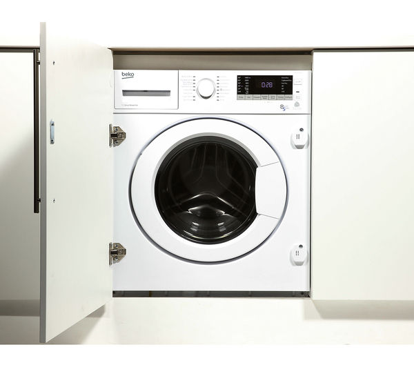 Nice Best Integrated Washer Dryer 2017 Part - 6: BEKO WDIX8543100 Integrated Washer Dryer - White
