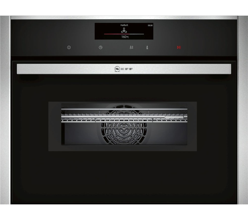 NEFF C28MT27N0B Built-in Combination Microwave - Stainless Steel, Stainless Steel