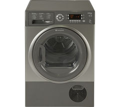 HOTPOINT Ultima S-Line SUTCD97B6GM Condenser Tumble Dryer - Graphite