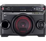 LG LOUDR OM4560 Wireless Megasound Hi-Fi System - Black