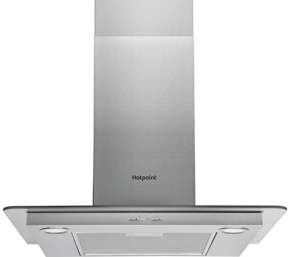 HOTPOINT PHFG6.5FABX Chimney Cooker Hood - Stainless Steel