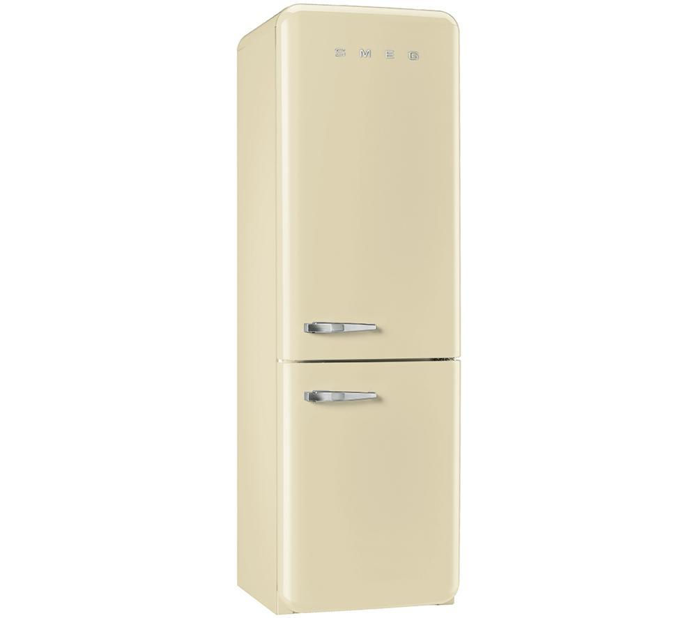 Buy Smeg Fab32rnc 70 30 Fridge Freezer Cream Free