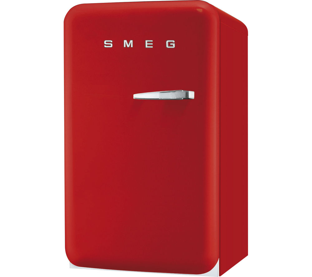 buy smeg fab10hlr mini fridge red free delivery currys. Black Bedroom Furniture Sets. Home Design Ideas