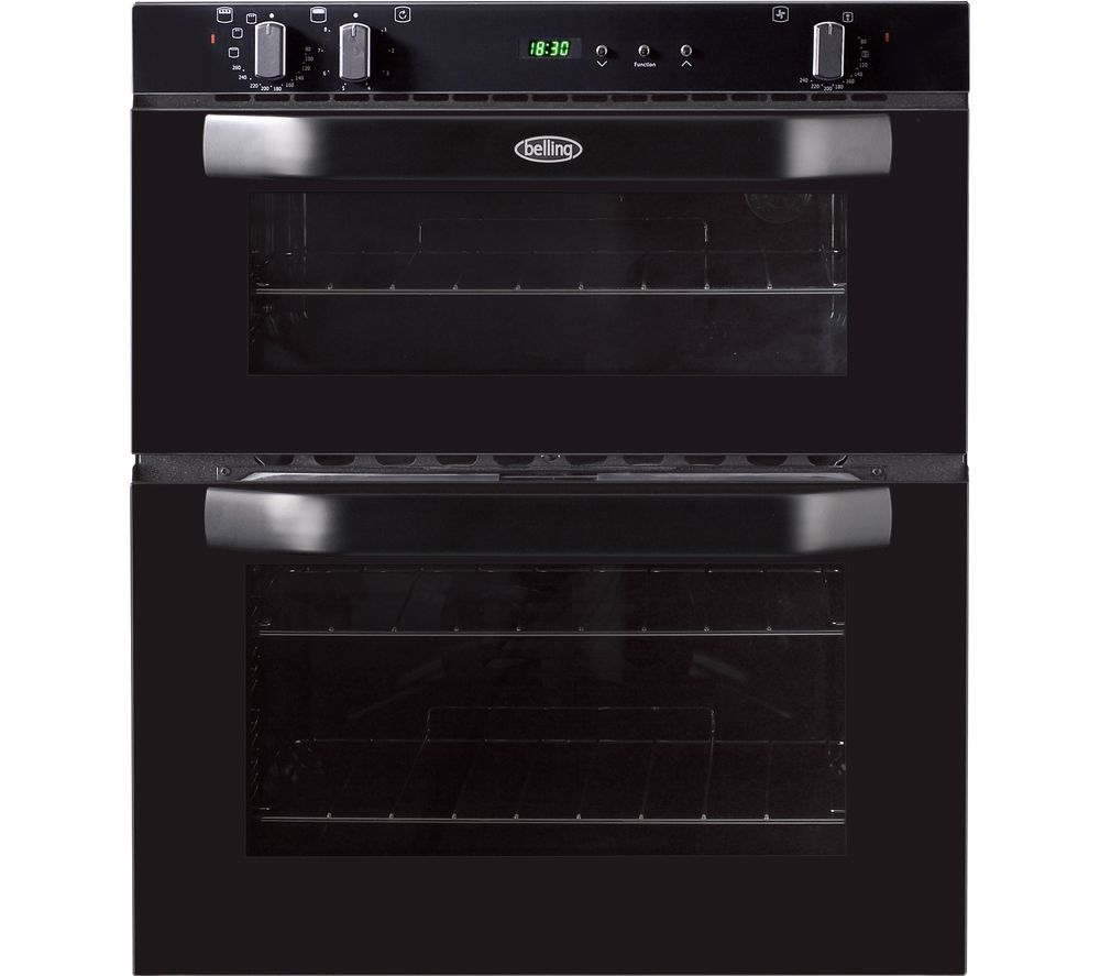 buy belling bi70fp electric built under double oven. Black Bedroom Furniture Sets. Home Design Ideas