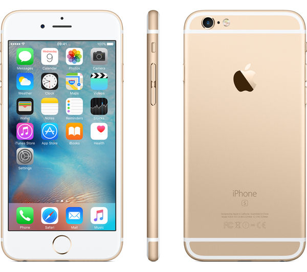 APPLE iPhone 6s - 32 GB, Gold, Gold