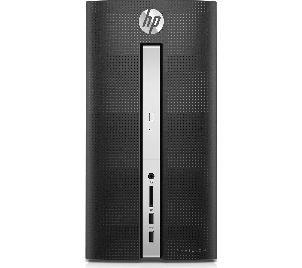 HP Pavilion 570-p046na Desktop PC + LiveSafe Premium 2018 - 1 user / unlimited devices for 1 year + Office 365 Personal - 1 year for 1 user