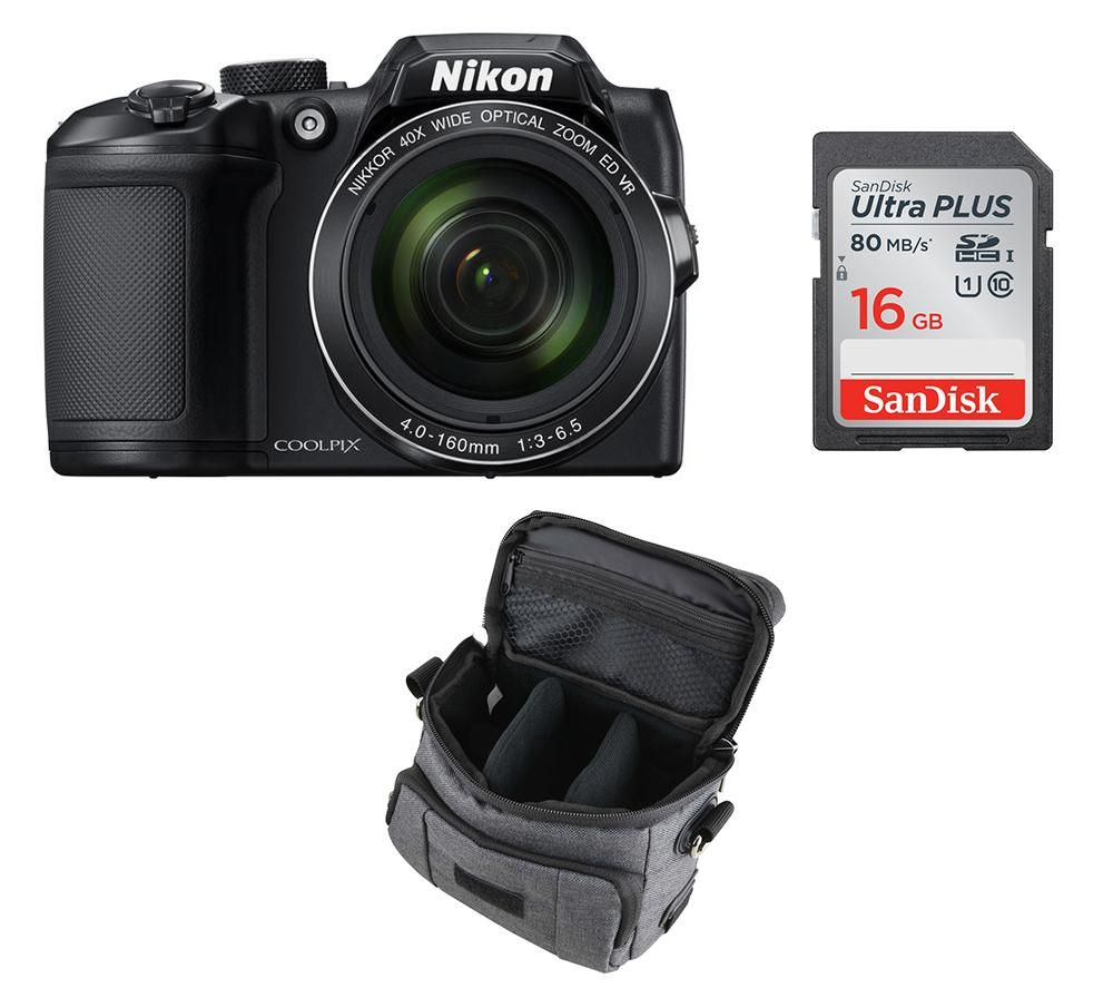 NIKON COOLPIX B500 Bridge Camera & Accessories Bundle