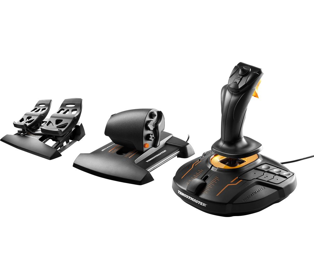 THRUSTMASTER T16000M Flight Pack (PC) Joystick, Throttle & Pedals