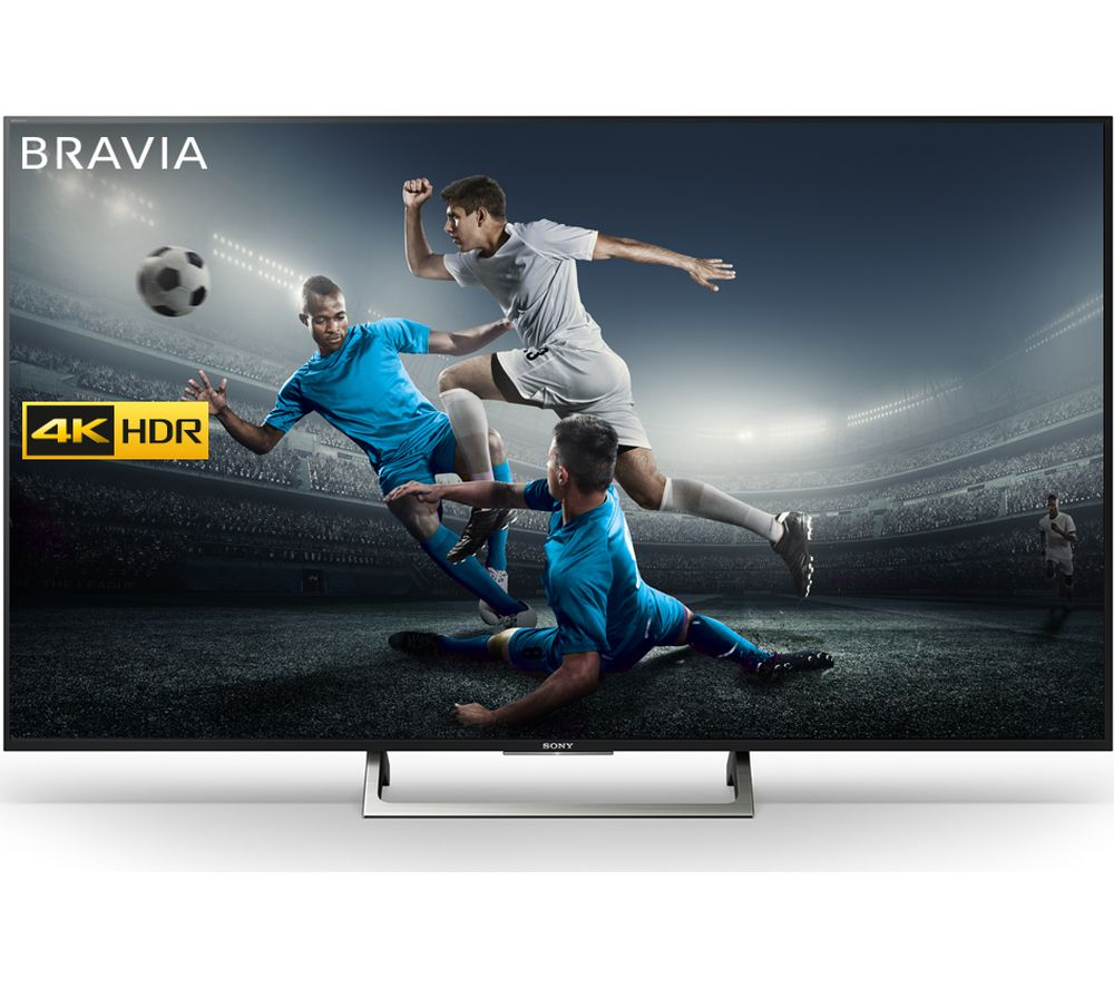 "SONY BRAVIA KD49XE8396 49"" Smart 4K Ultra HD HDR LED TV + SFLEZ14 Medium to Large Fixed TV Bracket"