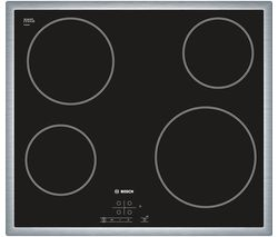 BOSCH Serie 4 PKE645B17E Electric Ceramic Hob - Black