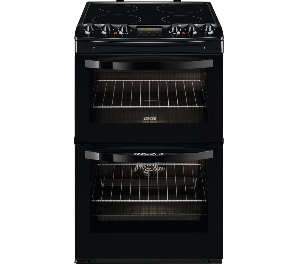 ZANUSSI ZCV48300BA 55 cm Electric Ceramic Cooker - Black