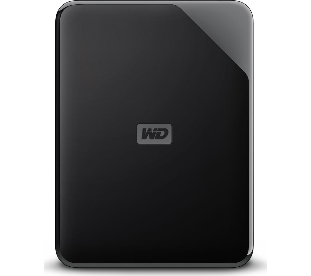 WD Elements SE Portable Hard Drive - 4 TB, Black
