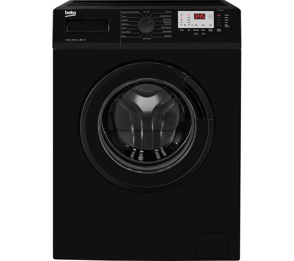 BEKO WTG641M1B 6 kg 1400 Spin Washing Machine - Black