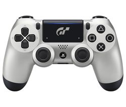 SONY DualShock 4 V2 GT Sport Limited Edition Wireless Controller - Silver