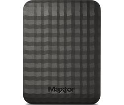 M3 Portable Hard Drive - 500 GB, Black