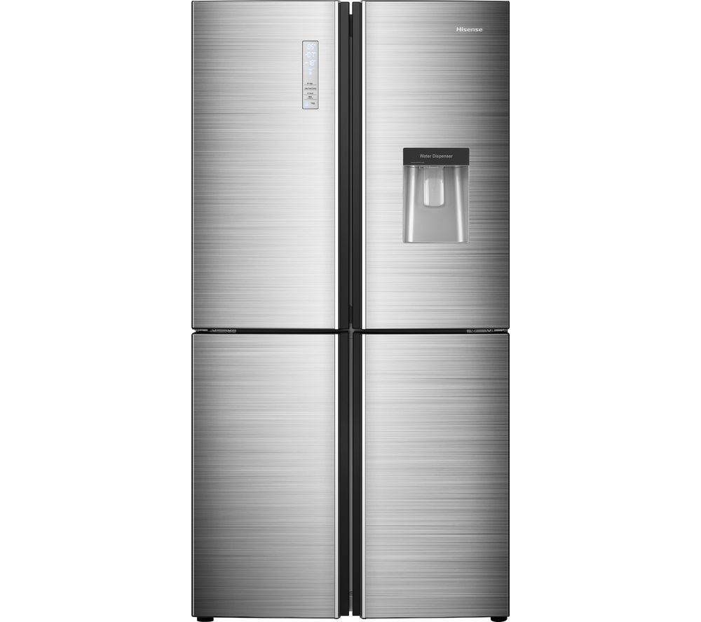 HISENSE RQ689N4WI1 Fridge Freezer - Stainless Steel