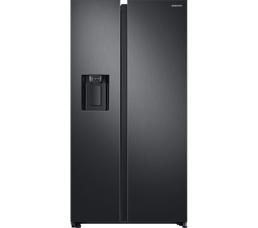SAMSUNG RS8000 RS68N8240B1/EU American-Style Fridge Freezer - Black Steel