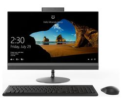 "LENOVO IdeaCentre 520-22AST-4GB 21.5"" AMD A9 All-in-One PC - 1 TB HDD, Black"