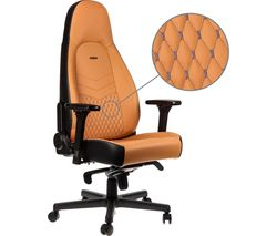 ICON Leather Gaming Chair - Cognac