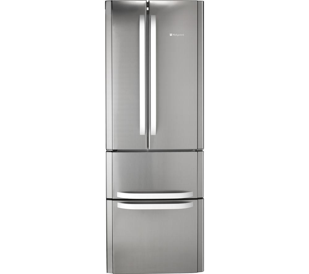 HOTPOINT FFU4D.1 X Fridge Freezer - Stainless Steel