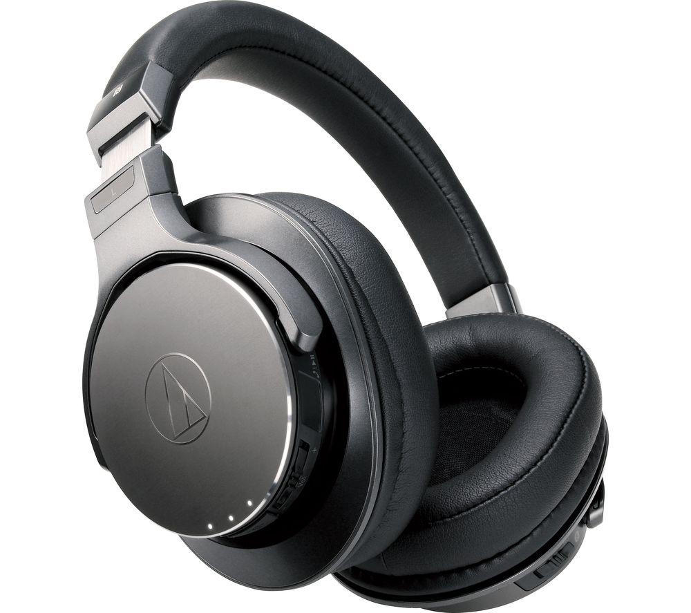 AUDIO TECHNICA ATH-DSR7BT Wireless Bluetooth Headphones - Black
