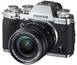 X-T3 Mirrorless Camera with FUJINON XF 18-55 mm f/2.8-4 R LM OIS Lens - Silver