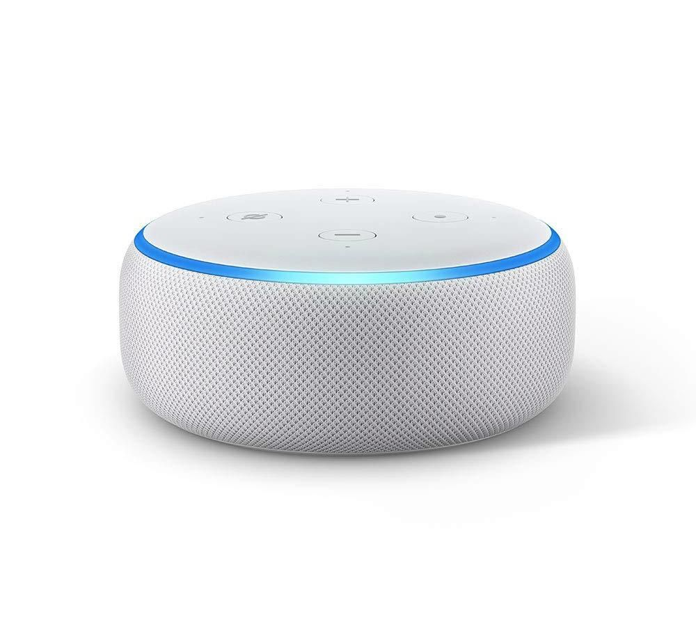 Image of Amazon Echo Dot (2018) - Sandstone