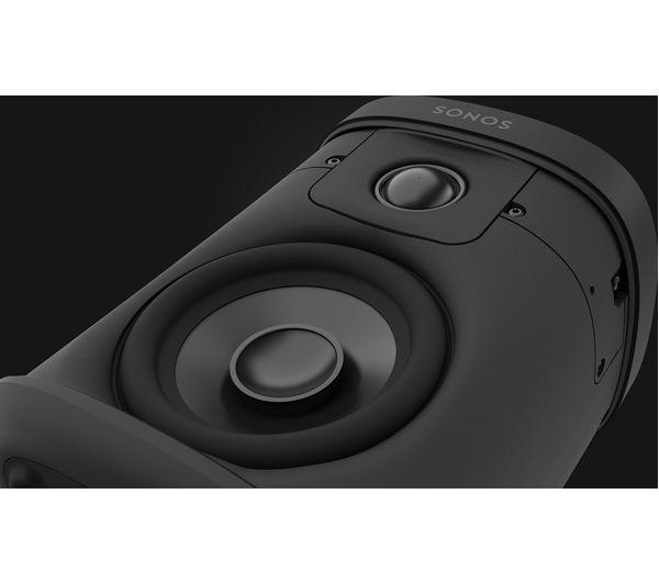 SONOS One Wireless Multi-room Speaker with Amazon Alexa & Google Assistant  - Black (Gen 2)