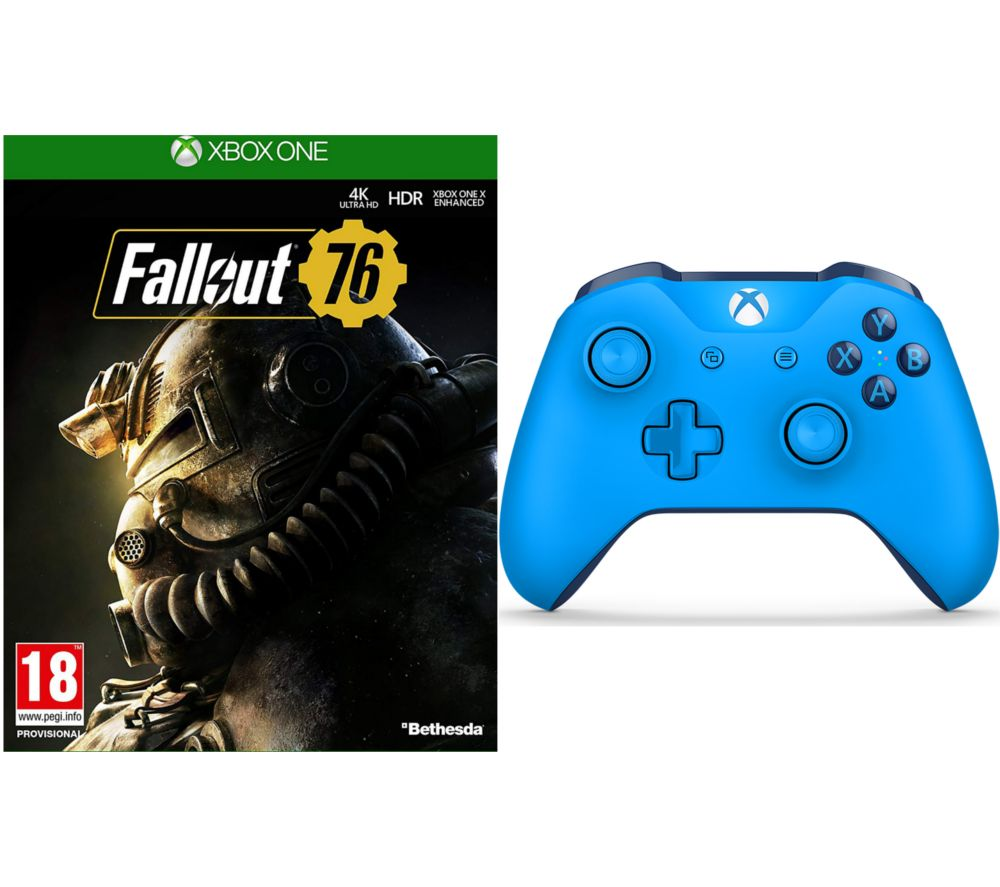 Fallout 76 & Xbox One Wireless Controller Bundle