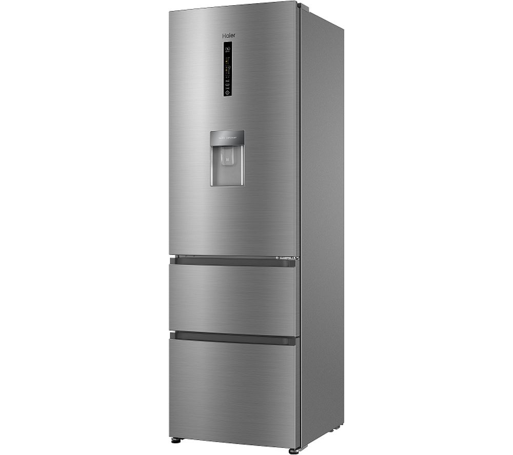 HAIER AFE635CHJW 60/40 Fridge Freezer - Stainless Steel, Stainless Steel